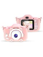 "Детский фотоаппарат Childrens Fun Camera ""Kitty"" (розовый)"