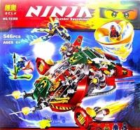 """Конструктор BELA Ninja 546 дет. """"Корабль Ронина"""""""
