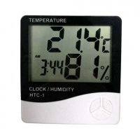 Термометр-гигрометр 5в1