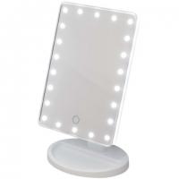 Зеркало настольное  для макияжа (с подсветкой 22 лампы)