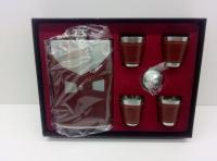 Подарочный Набор Фляжка N81 +4 рюмочки+воронка