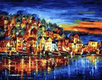Картины по номерам 40х50 Огни большого города