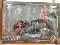 Игровой набор супергероев Мстители 10 в 1
