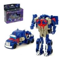 Робот-трансформер «Оптимус», трансформируется одним движением