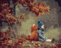 Картины по номерам 40х50 Осеннее вдохновение