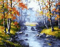 Картины по номерам 40х50 Осенняя природа