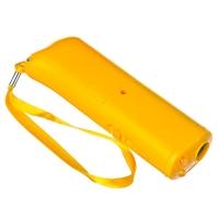 INBLOOM Отпугиватель собак ультразвуковой с фонарем, радиус 10м