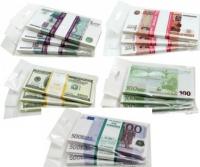 Пачка купюр сувенирная: Евро