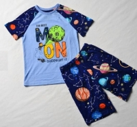 """Пижама для мальчика """"Луна"""" 104 светится в темноте"""