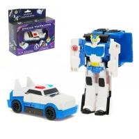 Робот-трансформер «Полицейский», трансформируется одним движением