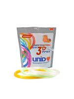 Набор пластика для 3D ручек: UNID PRO-F (по 10м. 3 цвета)