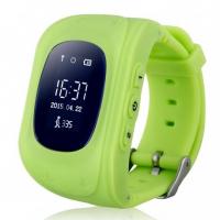 Детские часы с GPS Q50 (OLED) зелёные
