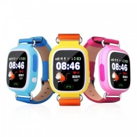 Детские умные часы Q90 (G72) сенсор розовые