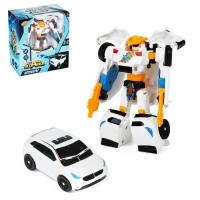 Робот-трансформер «Автобот» (бело-оранжевый)