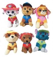 Щенки спасатели мягкая игрушка с пайетками