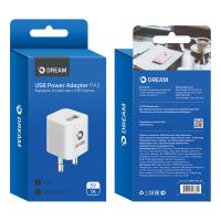 Сетевое зарядное устройство Dream DRM-PA3-03 1USB, 1A