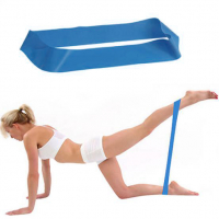 Резинка для фитнеса: синяя, 8-10 кг