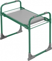 Садовая скамейка-перевертыш, складная, зеленый каркас