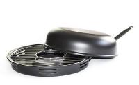 Сковорода гриль-газ D503, антипригарное покрытие