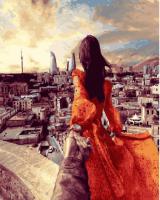 Картины по номерам 40х50 Следуй за мной. Баку. Азербайджан (GX 24492)