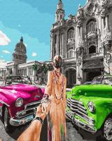 Картины по номерам 40х50 Следуй за мной. Куба