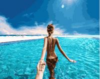 Картины по номерам 40х50 Следуй за мной. Мальдивы (GX 24451)