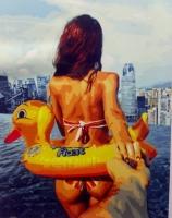 Картины по номерам 40х50 Следуй за мной. Море