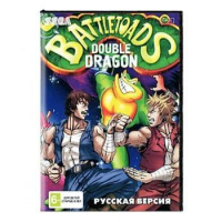 Картридж аналог сега BATTLE TOADS & DOUBLE DRAGON