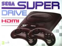 Игровая приставка аналог сега Super Drive 2 Classic HDMI White.+бонус(картридж 24в1)