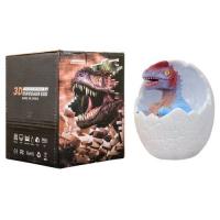 Светильник в виде динозавра в яйце