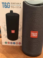 Bluetooth колонка TG-113A темно-серая
