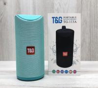 Bluetooth колонка TG-113A бирюзовая