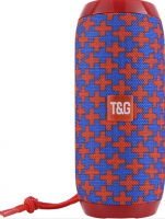 Bluetooth-колонка TG-117 красно-синяя