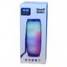 Bluetooth-колонка TG-157 красная, с подсветкой