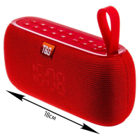 Bluetooth-колонка TG-177 красная