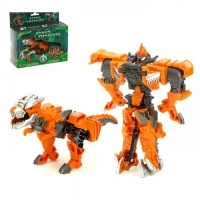 Робот-трансформер «Тираннозавр», трансформируется одним движением