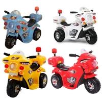 Трицикл мотоцикл электромобиль 85 см/аккум/звук.свет