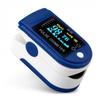 Цифровой пульсоксиметр на кончик пальца