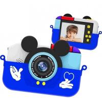 """Детская фотокамера """"Мышка"""" (голубая)"""
