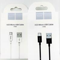 Hoco X23 кабель MicroUSB 1M