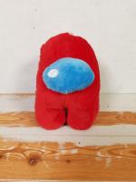 Мягкая игрушка Among Us 20 см красная