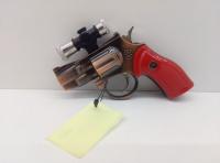 Зажигалка турбо с Лазером в виде пистолета