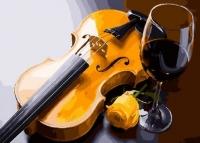 Картины по номерам 40х50 Желтая скрипка (GX 27891)