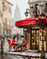 Картины по номерам 40х50 Романтичный закуток