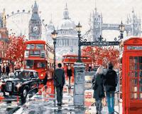 Картины по номерам 40х50 Прогулка по Лондону (GX 8362)