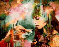 Картины по номерам 40х50 Сновидение (Димитра Милан)