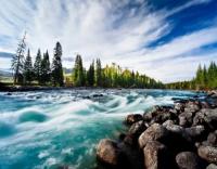 Картины по номерам 40х50 Национальный парк Джаспер Канада