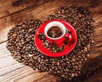 Картины по номерам 40х50 Любовь к кофе