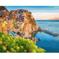Картины по номерам 40х50 Чинкве-Терре, Италия