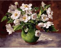 Картины по номерам 40х50 Цветы в кувшине